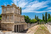 Sebasteion, a three storey high double colonnade decorated with friezes of Greek myths and imperial exploits, Aphrodisias, Aydin, Turkey Stock Photo - Premium Rights-Managednull, Code: 862-08273937