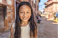 Portrait of young Nepali girl Stock Photo - Premium Royalty-Freenull, Code: 6106-08277795