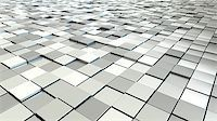 silver box - A background image of some silver metallic cubes Stock Photo - Royalty-Freenull, Code: 400-08298959