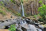 Dry Creek Falls Along Pacific Crest Trail in Columbia River Gorge National Scenic Forest in Oregon