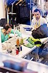 Tailors in studio