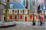 The Oude Kerk (Old Church) at Oudekersplein (Old Church Square) in the city center of Amsterdam, Holland
