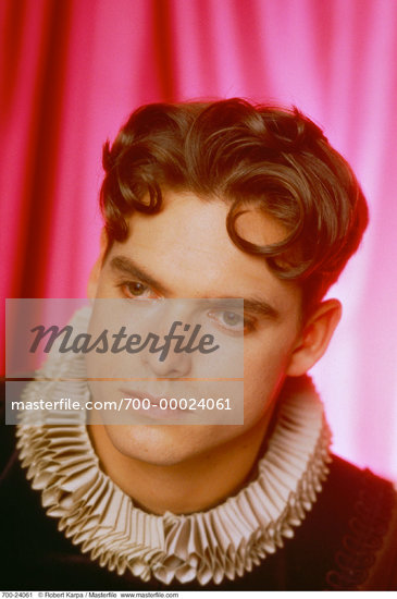 actor male Costume Adult Male Elizabethan historical portrait 700- model ...