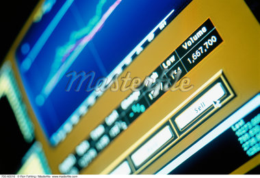 Financial Information on Computer Screen    Stock Photo - Premium Rights-Managed, Artist: Ron Fehling, Code: 700-00040016