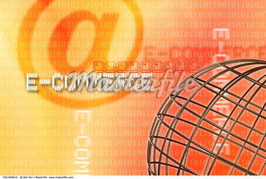 Wire Globe, Binary Code and E-Commerce    Stock Photo - Premium Rights-Managed, Artist: Wei Yan, Code: 700-00044614