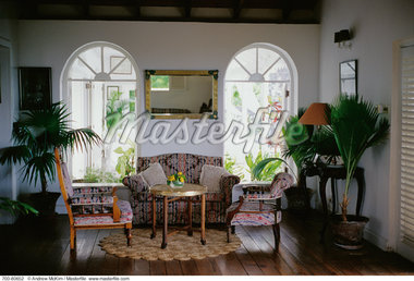 Plantation Interior St. Kitts, West Indies - Stock Photos