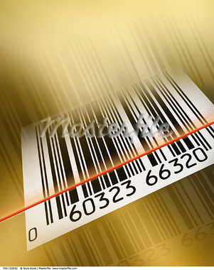 Barcode    Stock Photo - Premium Rights-Managed, Artist: Nora Good, Code: 700-00152932