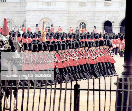 royal guard at parade