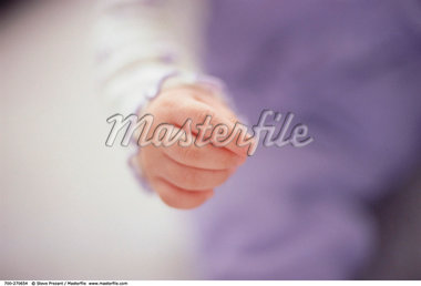 Young Child's Hand    Stock Photo - Premium Rights-Managed, Artist: Steve Prezant, Code: 700-00270654