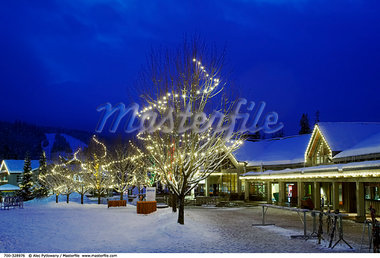 Lodge at Blackcomb Ski Area Whistler, British Columbia Canada    Stock Photo - Premium Rights-Managed, Artist: Alec Pytlowany, Code: 700-00328976
