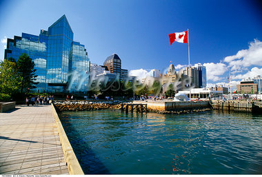 Halifax Waterfront, Nova Scotia, Canada    Stock Photo - Premium Rights-Managed, Artist: J. A. Kraulis, Code: 700-00459842