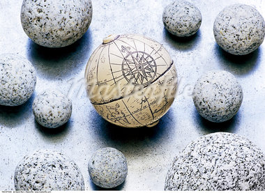 Globe and Stones    Stock Photo - Premium Rights-Managed, Artist: David Muir, Code: 700-00477240