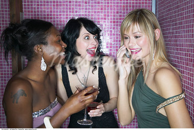 Women Chatting    Stock Photo - Premium Rights-Managed, Artist: Masterfile, Code: 700-00544209