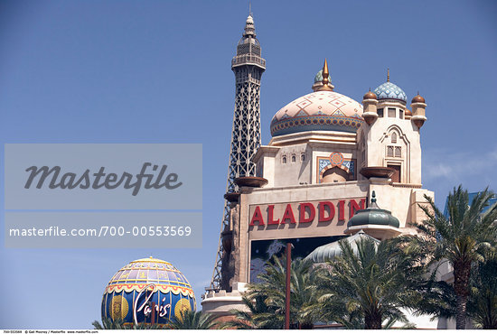 Aladdin Hotel and Casino, Las Vegas, Nevada, USA    Stock Photo - Rights-Managed, Artist: Gail Mooney, Code: 700-00553569