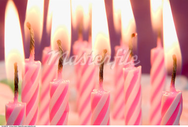 Birthday Candles    Stock Photo - Premium Rights-Managed, Artist: Nora Good, Code: 700-00608707