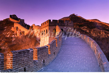 Badaling Section of The Great Wall of China, China    Stock Photo - Premium Rights-Managed, Artist: JW, Code: 700-00610230