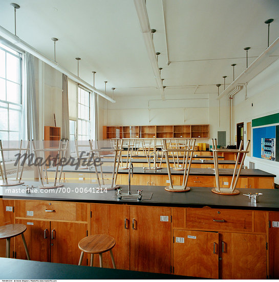 Classroom Interior    Stock Photo - Premium Rights-Managed, Artist: Derek Shapton, Code: 700-00641214