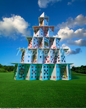 House of Cards    Stock Photo - Premium Rights-Managed, Artist: Ken Davies, Code: 700-00695635