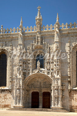 Jeronimo's Monastery, Belem, Lisbon, Portugal    Stock Photo - Premium Royalty-Free, Artist: Graham French, Code: 600-00982865