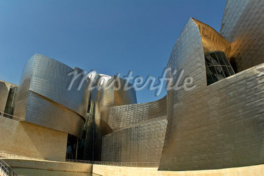 Guggenheim, Bilbao, Spain    Stock Photo - Premium Rights-Managed, Artist: Mike Randolph, Code: 700-01030406