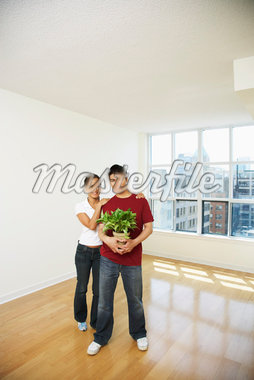 Couple in New Condo    Stock Photo - Premium Royalty-Free, Artist: Janet Bailey, Code: 600-01073460