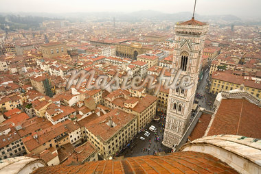 Cityscape of Florence, Italy    Stock Photo - Premium Rights-Managed, Artist: R. Ian Lloyd, Code: 700-01185574