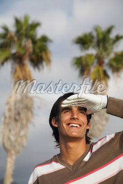 Man Golfing    Stock Photo - Premium Rights-Managed, Artist: Masterfile, Code: 700-01199622