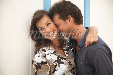 Portrait of Couple    Stock Photo - Premium Rights-Managed, Artist: Masterfile, Code: 700-01200442