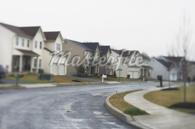 Housing Complex    Stock Photo - Premium Rights-Managed, Artist: Steve Prezant, Code: 700-01248913