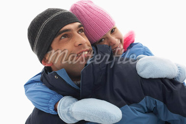 Close-up of Father and Daughter    Stock Photo - Premium Royalty-Free, Artist: Masterfile, Code: 600-01249371