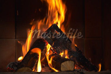 Fireplace    Stock Photo - Premium Rights-Managed, Artist: Masterfile, Code: 700-01275915