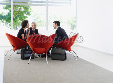 Group of office workers in a meeting Stock Photo - Premium Royalty-Freenull, Code: 635-01348257