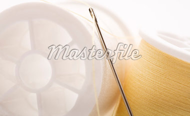 Needle and Thread    Stock Photo - Premium Royalty-Free, Artist: Amy Whitt, Code: 600-01429233