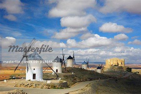 Castilla La Mancha, Consuegra, Espagne