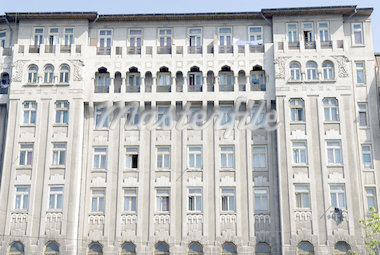 Romania, Muntenia, Bucharest, building facade Stock Photo - Premium Royalty-Freenull, Code: 610-01578623