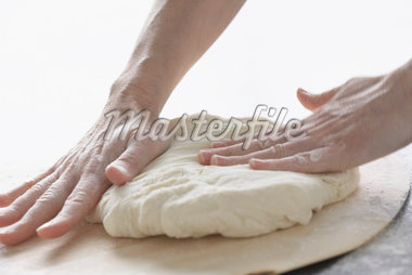 Hands Kneading Dough    Stock Photo - Premium Royalty-Free, Artist: Jerzyworks, Code: 600-01582169