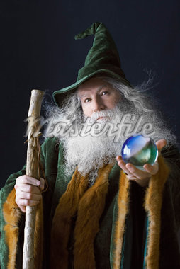 Portrait of a Wizard    Stock Photo - Premium Rights-Managed, Artist: Jerzyworks, Code: 700-01582186