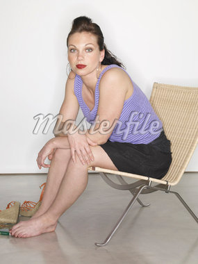 Portrait of Woman    Stock Photo - Premium Royalty-Free, Artist: SCS Studio, Code: 600-01632901