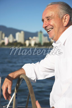 Man Sailing    Stock Photo - Premium Royalty-Free, Artist: John Lee, Code: 600-01633248