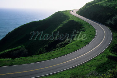 Pacific Coast Highway, California, USA    Stock Photo - Premium Rights-Managed, Artist: Roy Ooms, Code: 700-01717017