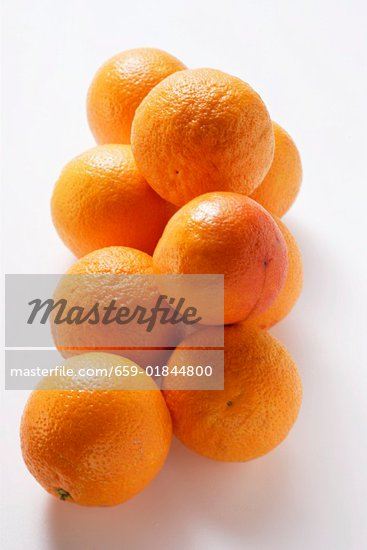 Several whole blood oranges Stock Photo - Premium Royalty-Freenull, Code: 659-01844800