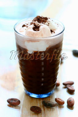Iced coffee Stock Photo - Premium Royalty-Freenull, Code: 659-01849506