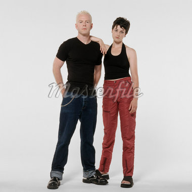 Portrait of Couple    Stock Photo - Premium Royalty-Free, Artist: SCS Studio, Code: 600-02071294