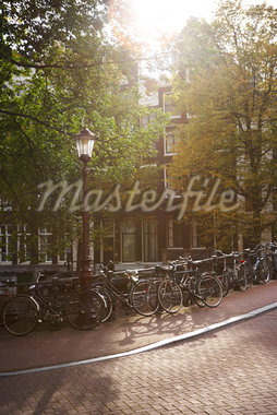 Bikes Parked on Bridge, Amsterdam, Netherlands Stock Photo - Premium Rights-Managed, Artist: Derek Shapton, Code: 700-02129116