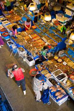Noryangjin Fish Market, Seoul, South Korea    Stock Photo - Premium Rights-Managed, Artist: R. Ian Lloyd, Code: 700-02289687
