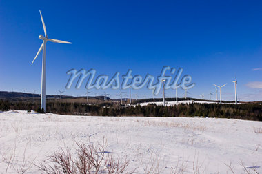Wind Farm, Gaspasie, Quebec, Canada    Stock Photo - Premium Rights-Managed, Artist: Alberto Biscaro, Code: 700-02289751