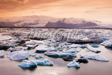 Iceberg on Jokulsarlon Lake, Iceland    Stock Photo - Premium Royalty-Free, Artist: F. Lukasseck, Code: 600-02348811