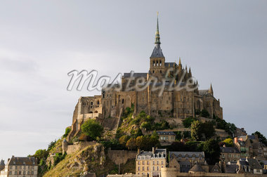 Mont Saint-Michel, Normandy, France    Stock Photo - Premium Royalty-Free, Artist: Jochen Schlenker, Code: 600-02590895