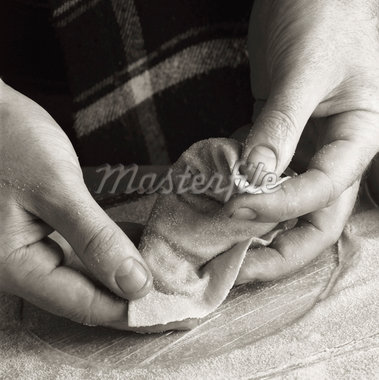 Making Ravioli    Stock Photo - Premium Rights-Managed, Artist: foodanddrinkphotos, Code: 824-02625556