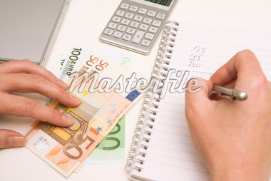 Hands Counting Money    Stock Photo - Premium Royalty-Free, Artist: Klick, Code: 600-02638207